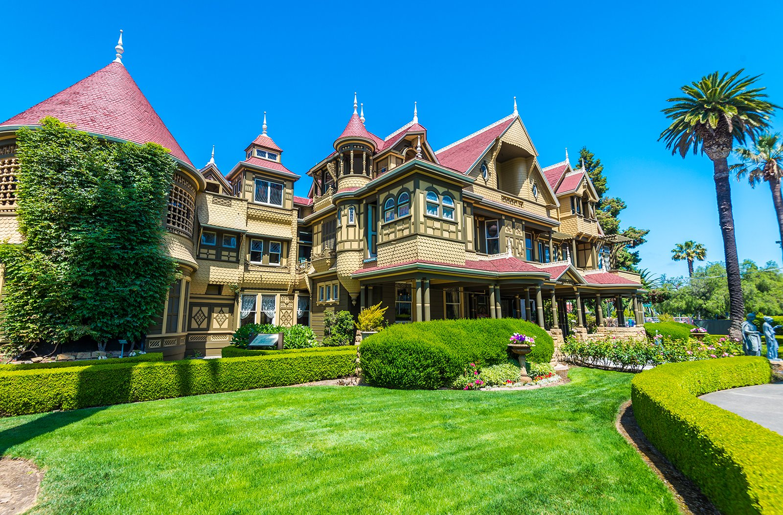 In The Good Old Summertime at Winchester Mystery House