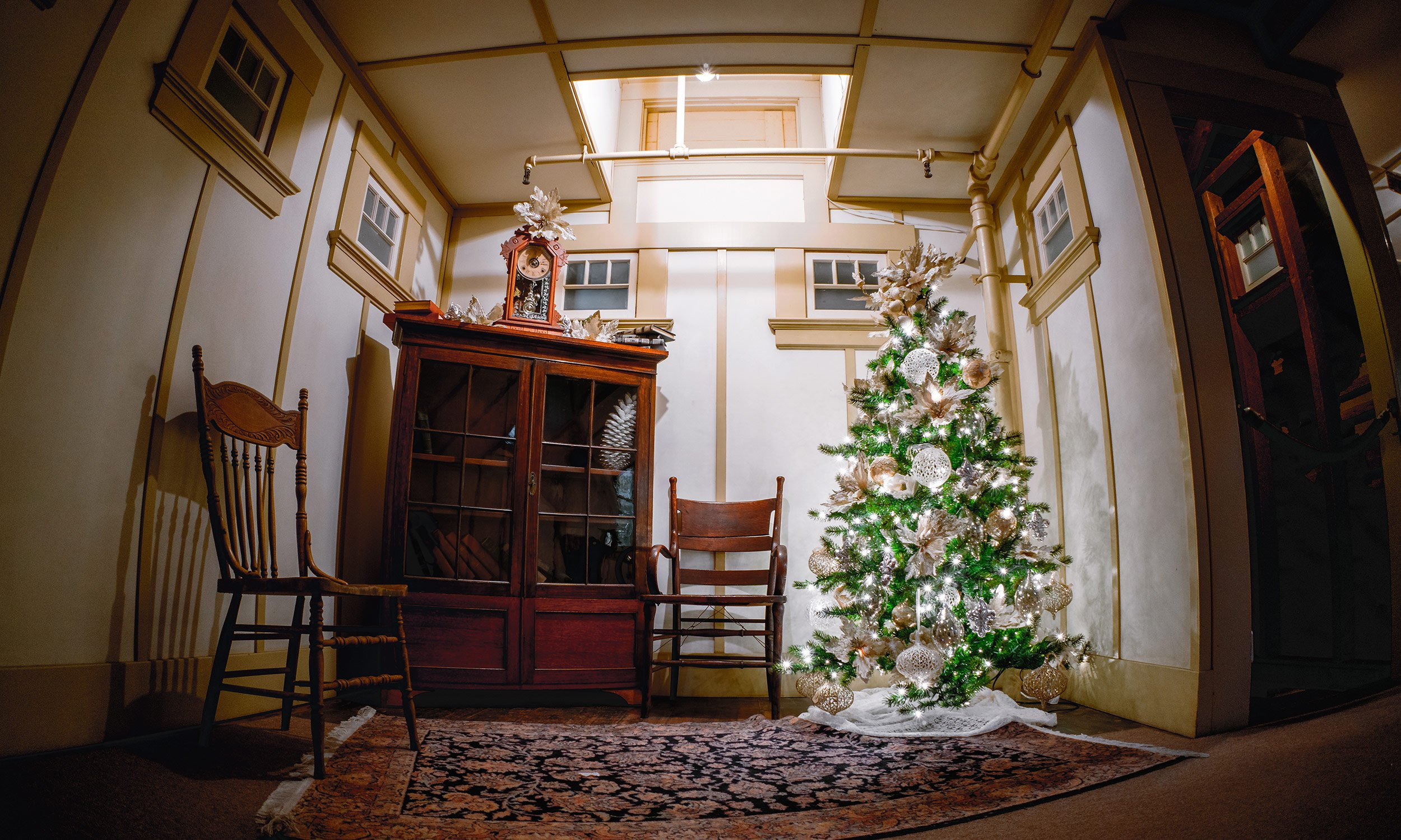 Winchester Mystery House Christmas Tree 2
