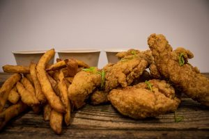 Chicken Strips from the Winchester Cafe in San Jose